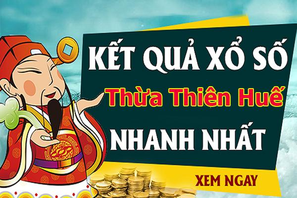 Soi cầu XS Thừa Thiên Huế chính xác thứ 2 ngày 26/08/2019