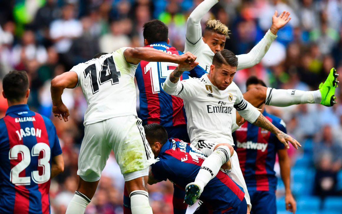Nhận định kèo Real Madrid vs Levante 18h00 thứ 6 ngày 14-09 -2019