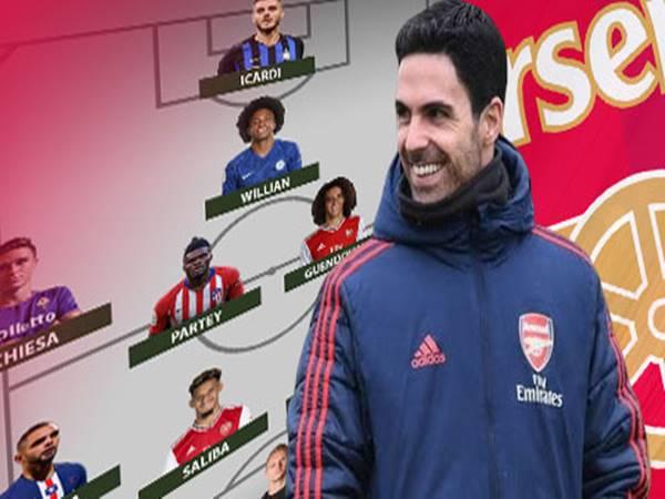 Đạt mục tiêu chuyển nhượng, đội hình Arsenal thế nào?