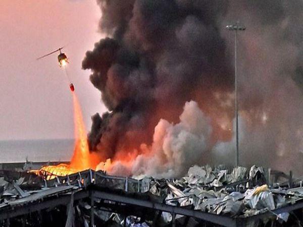 Tiền đạo Lebanon suýt chết sau vụ nổ ở Beirut
