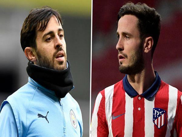 Chuyển nhượng trưa 9/6: Atletico gạ Man City đổi Bernardo Silva lấy Saul
