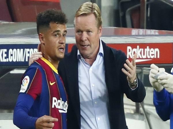 HLV Koeman có thể cứu rỗi Coutinho